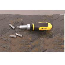 5 en 1 main Precision outils CRV tournevis à cliquet Stubby acier