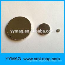 Button magnet Europe standard thin neodymium magnet