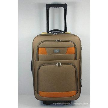 Sac de bagage extérieur de voyage de chariot externe d'EVA mou