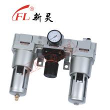 Lubricador del regulador del filtro Lubricador de grasa operado por aire sin costura AC5000-10
