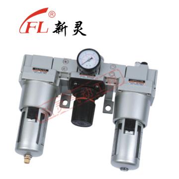 Lubrificador de filtro regulador Lubrificador de graxa sem costura operado a ar AC5000-10