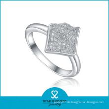 Großhandel stilvolle Rhodium Hochzeit Ring