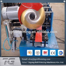 Fabricant de la machine de formage de rouleaux de tuyaux ronds à carreaux glacés pour bec de pluie