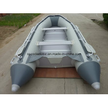 Hochgeschwindigkeits-PVC-Material Aufblasbares Sport-Boot