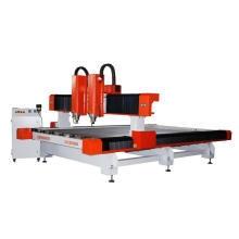 Two Heads Two Spindles Heavy Duty Stone, Marble, Granite CNC Router Machine