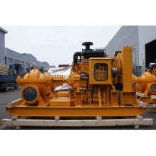 Pompe d'urgence de lutte contre l'incendie avec pompe à moteur diesel (XBD-S)