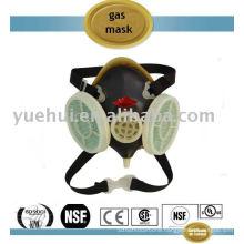 F-K6 Double cartridge half face piece gas mask
