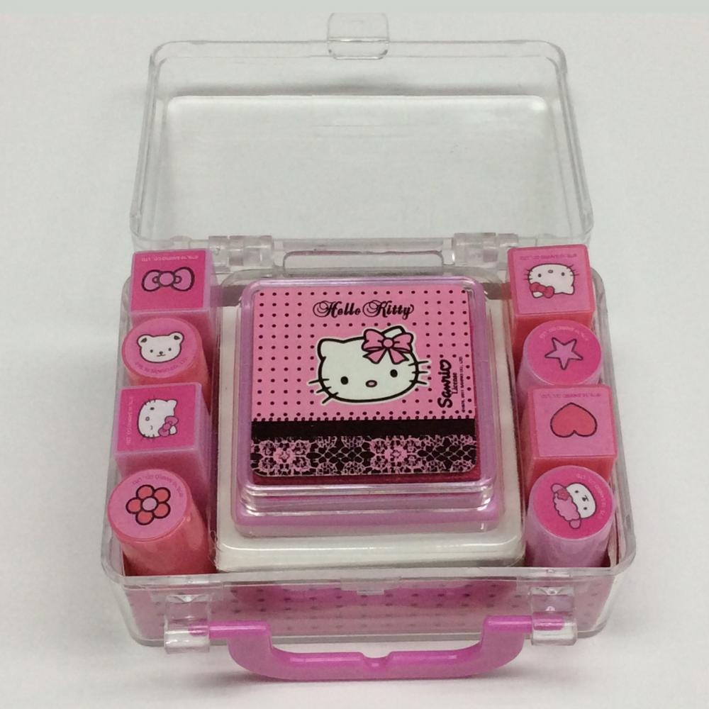 plastic cartoon portable stamp