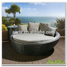 Наружный диван Audu, круглый диван из ротанга, дивана с диваном