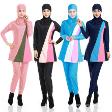 Arab women wholesale stock custom muslim Ladies Modest Islamic Muslim Swimsuit