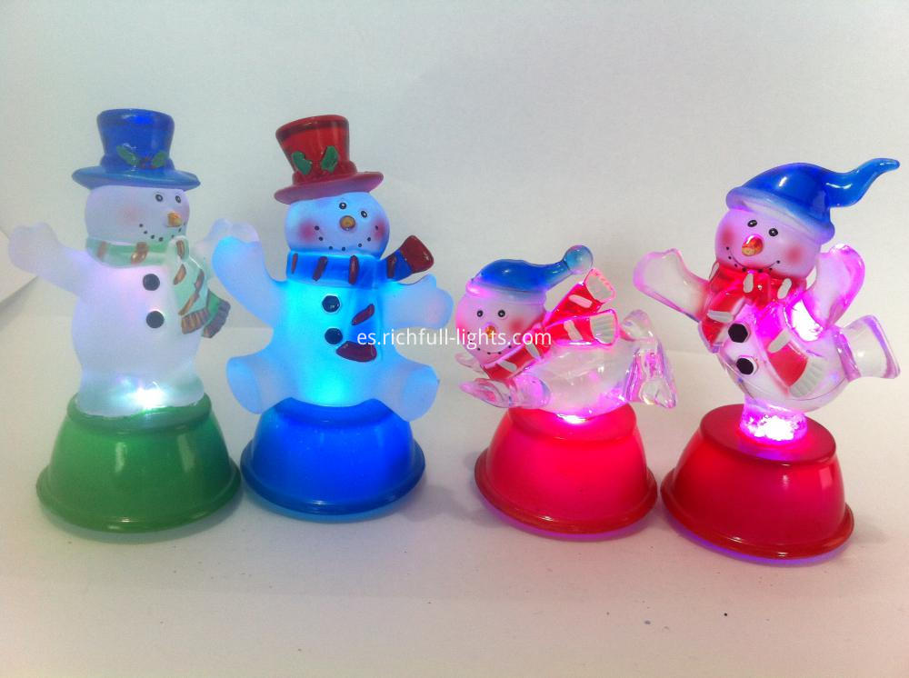 LED Christmas Snowman Lights