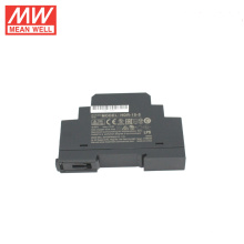 Meanwell HDR-15-5 15W ultra-mince forme d'étape din rail alimentation 5v