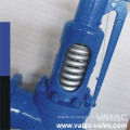 """Válvula de seguridad de elevación baja de acero fundido de 2 """"/ 4"""" / 6 """"/ 8"""" con resorte"""