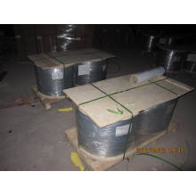 Galvanized Flat Wire in Wooden Spool