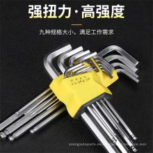 Llave de tubo tipo L, llave de tubo DIN911