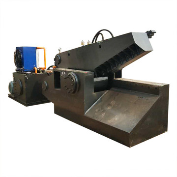 На заводе гидравлических алюминиевых труб стальных труб крокодиловые ножницы