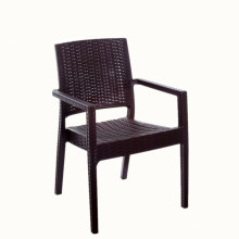 Factory supply good price handrail plastic imitation rattan injection molding waiting for leisure chair