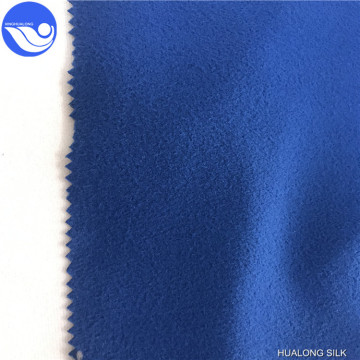 100% Polyester Brush Tricot Fabric Super Poly