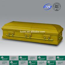 Cores de caixões LUXES estilo americano folheado barato caixões