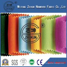 100% PP Spun-Bond Non Woven Fabric in Cross Design Used for Shopping Bag