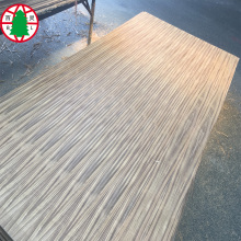 Natural Teak veneer face on MDF board