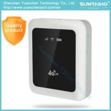 2016 FDD-Lte 4G WiFi portátil Route 5200 mAh o Power Bank con ranura para tarjeta SIM SIM RJ45 Port Router