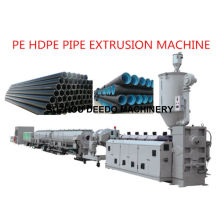Chaîne de production d'extrusion de tuyau de PE HDPE PPR d'extrudeuse