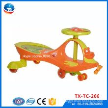 PU Flashing Wheel Baby Swing Car Yoyo Car Toy Swing Car / Cheap Price Twist Car / Swing Car Plasma Car Twist Car