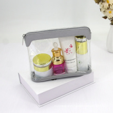 Promotional Gift Cheap Makeup Bag Transparent PVC Toiletry Travel Clear Cosmetic Bag
