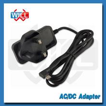 CE BS conmutador dc 5v 1a UK adaptador de corriente