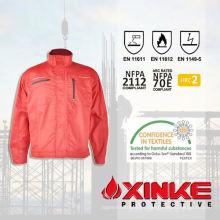 funcional chaqueta de invierno de minería de sarga de algodón profesional
