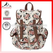 Moda mochila faculdade da escola da lona / bookbags para meninas / estudantes / mulheres HCB0075