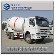 12 Cubic Sinotruk HOWO 6X4 Camião betoneira