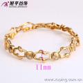 72906- Xuping Jewelry Fashion Hot Sale Pulsera Mujer con oro 18K plateado