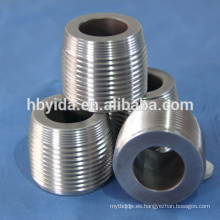 Troqueles de rosca mecanizados de precisión para barras de refuerzo de acero