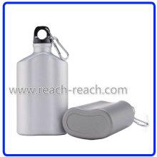 Cantimplora de aluminio, botella de agua de aluminio (R-4054)