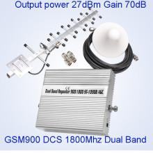 GSM 900MHz Dcs 1800MHz Signal Repeater Мобильный сигнал Booster для домашнего использования Мини размер Repeater