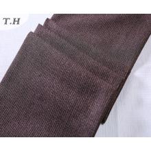 Diseño de tela de lino de café para silla y sofá (FTD31050)