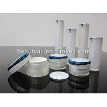 Tarro de crema de plata de acrílico 5ml 10ml 15ml 30ml 50ml 100ml