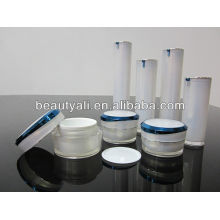Silver Acrylic Cream Jar 5мл 10мл 15мл 30мл 50мл 100мл
