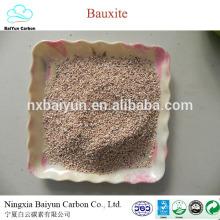 Preço de alta pureza em matéria de minério de bauxita em bruto