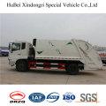 10-смеситель 12cbm Донгфенг Евро 4 с задней загрузкой тележку compactor Отброса 4x2