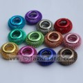 Wholesale Metal  European Style Hollow Big Hole European Metal Beads
