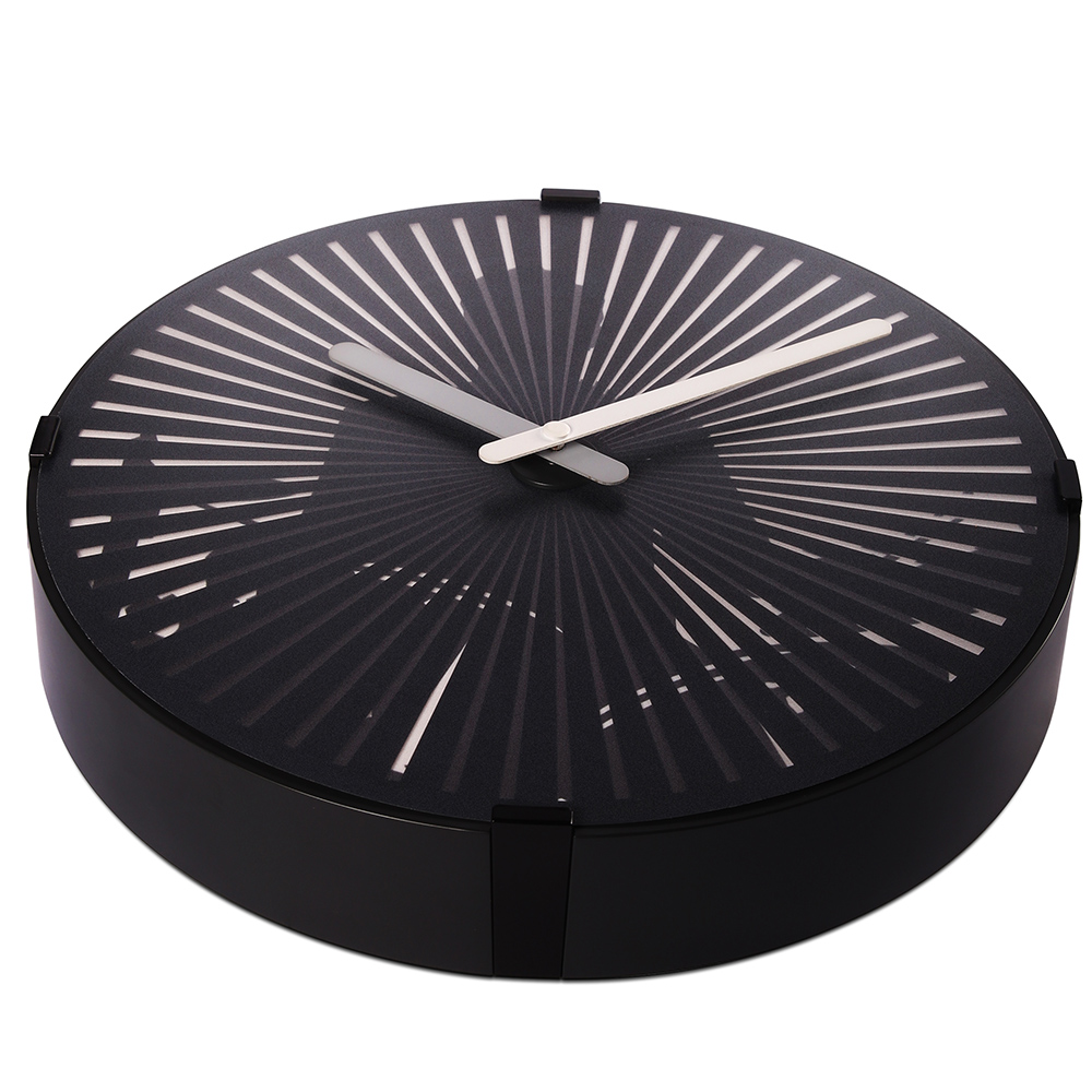 Black Wall Clock Contemporary