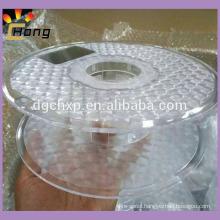 clear plastic spool for 3d printer filament