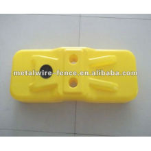 plastic temporary fence feet/base