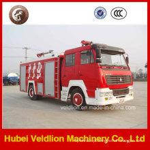 Caminhão de bombeiros de Steyr com o tanque de água 6000L / 6cbm / 6m3 e o monitor do fogo