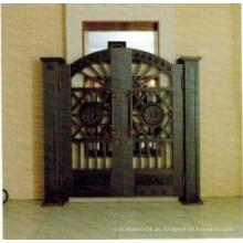 Preiswertes stilvolles Stahl Sicherheit Eingang Kupfer Tür