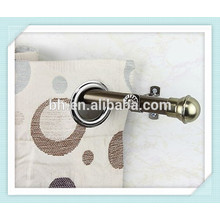 Home Decorative Hinged Nickel Matt Brass Curtain Tube For Vertical Blinds