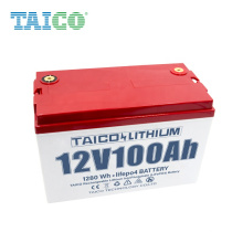 12.8V 100mah Rechargeable Li-ion LiFePO4 Lithium Solar Battery Cell